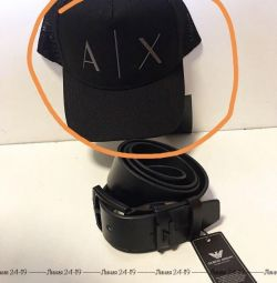 Cap with a new tag Armani