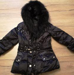 Winter down jacket M
