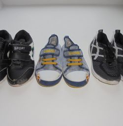 Sneakers, gym shoes, sandals 28 rub