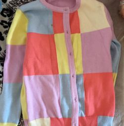 Jacket for a girl of 8-9 years old