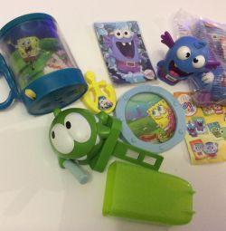 Τα παιχνίδια Spongebob και Yum - Yum