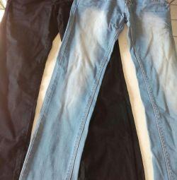 Jeans 42-44.2 pieces.