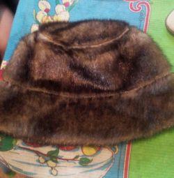 Kadın kış kürk şapka