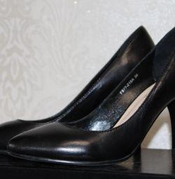 Νέα παπούτσια, γνήσιο δέρμα, μέγεθος 36