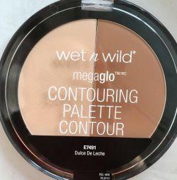 Wet n Wild contouring palette contour корректор