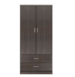 WARDROBE 2 DOUBLE WINDOWS 2 HM338.01 ZEBRANO 80X DRAWERS