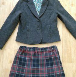 Σακάκι + φούστα
