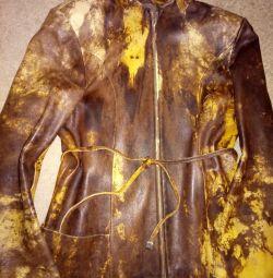Куртка нат. кожа, р. 42-44