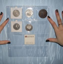 sheets for coins and bills