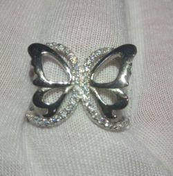 Кольцо-серебро 925 пробы