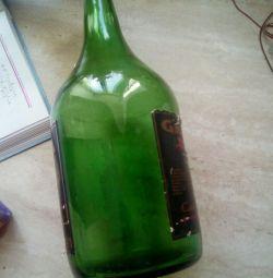 Бутылка большая советская раритет
