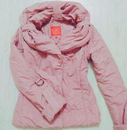 Μπουφάν 44 ροζ γυναικών