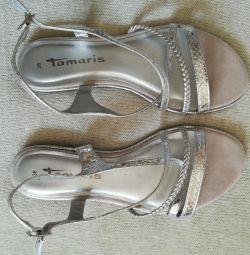 Sandalet-sandalet Yeni Tamaris, r-37
