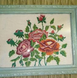 Embroidery paintings