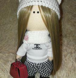 Кукла тыквоголовка ручная работа