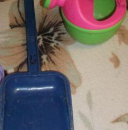 Pentru jucăriile cu nisip