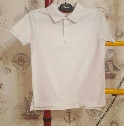 Bluză tricou polo cu tricou