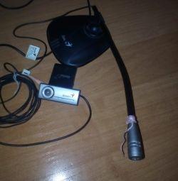 Bilgisayar için mikrofon ve kamera