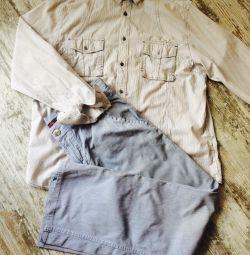Πουκάμισα + παντελόνι