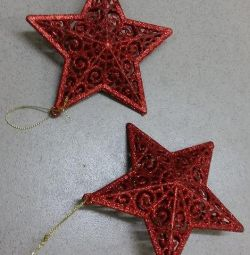 New Year's red star