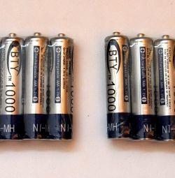 Μπαταρίες AAA pinky (1000 mA.)