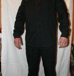 Новый костюм охранника XL-XXL на рост 184-188