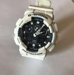 Casio g-şok ga-100b beyaz