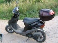 Honda DIO 27 with documents