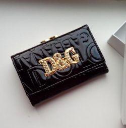 Πορτοφόλι από τη φύση. Dolce & Gabbana δέρμα