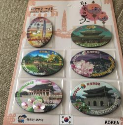 Magnets. Seoul