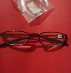 Reading glasses +3.5