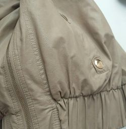 Jacket leather autumn-spring