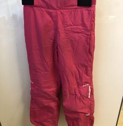 Pantaloni calzi pentru fată