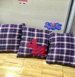 Pillows 3 pcs