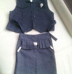 Θα πουλήσω μια φούστα γιλέκο 7-8 ετών