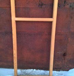 Wooden frames 63cm * 134cm, thickness 4cm