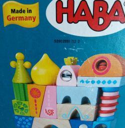Ξύλινοι γερμανικοί κύβοι HABA