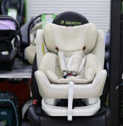 Araba koltuğu Happy Baby Unix isofix 0-36 kg'dan itibaren
