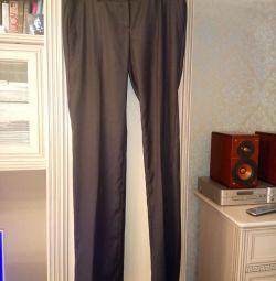 Чeрные брюки Sabrina Scala размер M