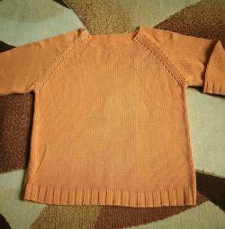 Джемпер х / б р.42-46 яскраво оранж.