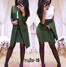 Hırka ile elbise (iş kıyafeti)