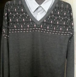 Jumper and shirt in one 48 r.