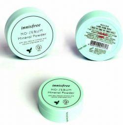 Mineral powder for oily skin Innisfree (Korea