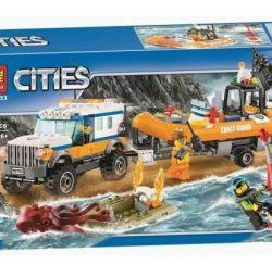 Конструктори Lego Сіті