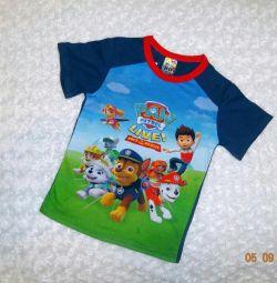 T-shirts Paw Patrol. Nou. 98-116
