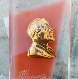 Plaque Lenin