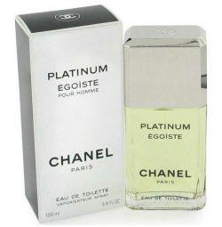 Men's fragrance version EGOISTE PLATINUM from CHANEL