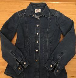 Δερμάτινο πουκάμισο