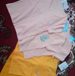 T-shirts for 4-5 years new