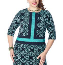 Приголомшливе плаття-туніка прямого силуету